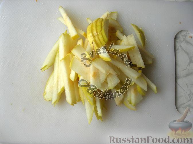 """Фото приготовления рецепта: Праздничный салат """"Красотка"""" (без майонеза) - шаг №3"""