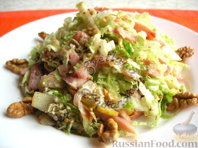 """Фото приготовления рецепта: Праздничный салат """"Красотка"""" (без майонеза) - шаг №5"""
