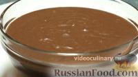 Фото к рецепту: Шоколадный заварной крем
