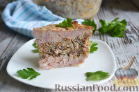 Фото к рецепту: Мясная запеканка с гречкой