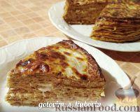 Фото к рецепту: Пирог из капустных блинчиков