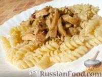 Фото к рецепту: Куриное филе, тушенное в сливках