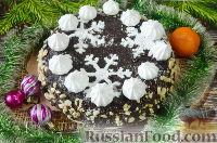 Фото к рецепту: Торт на Новый год (в мультиварке)