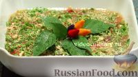 """Фото к рецепту: Салат """"Южный"""" из болгарского перца"""