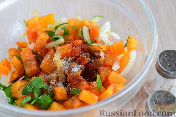 Фото приготовления рецепта: Сальса из хурмы - шаг №6