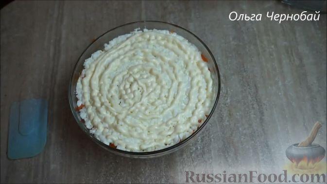 Фото приготовления рецепта: Макароны с морковью, луком и яблоком - шаг №8