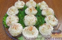 Фото к рецепту: Мясные капкейки (кексы) с начинкой