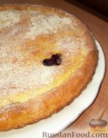 Фото к рецепту: Пирог  с вишней и клюквой