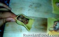 Фото приготовления рецепта: Армянские манты с мясом (в духовке) - шаг №5