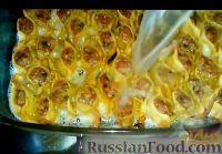 Фото приготовления рецепта: Армянские манты с мясом (в духовке) - шаг №8