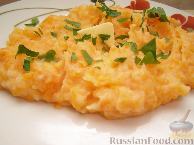 Рецепт Картофельно-морковное пюре