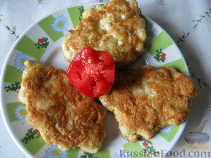 Рецепт Оладьи из куриной грудки