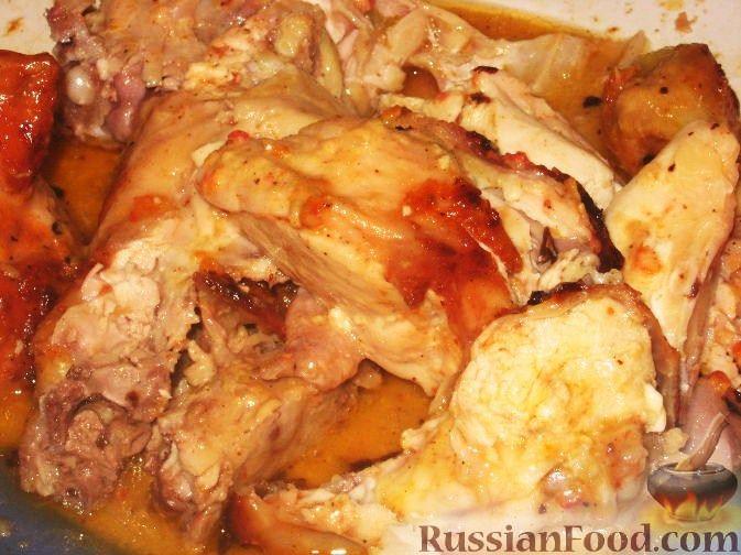 Рецепт Курица с аджикой