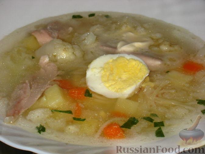 Рецепт Куриный суп по-домашнему
