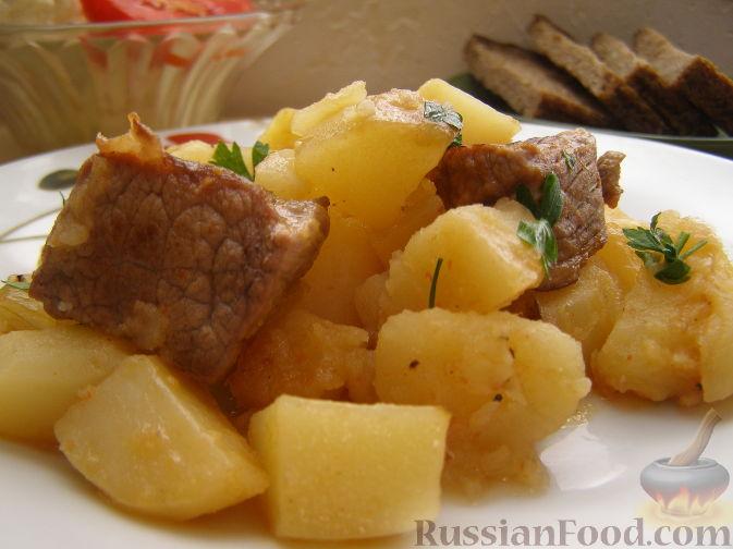 Рецепт Жаркое по-домашнему