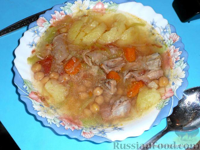 Рецепт Шурбо (суп с горохом)