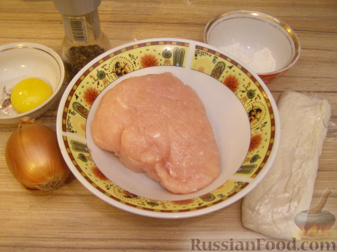 рецепт клубочки ниток с куриным фаршем