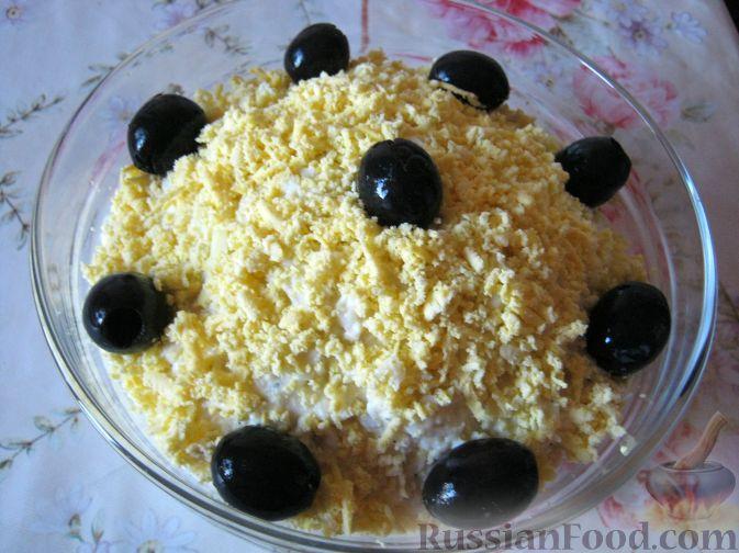Рецепт Салат из плавленых сырков
