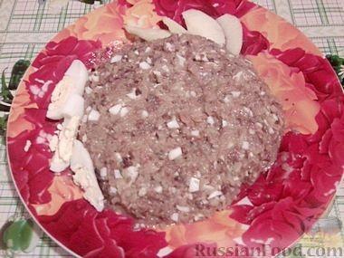 Рецепт Вкусный селёдочный форшмак