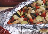 Фото к рецепту: Овощи на гриле