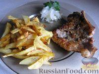 Фото приготовления рецепта: Отбивные из свинины (карбонат) - шаг №11