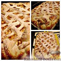 Фото к рецепту: Пирог с яблоками
