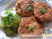 Фото к рецепту: Котлеты из куриного фарша