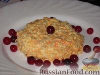 """Фото приготовления рецепта: Салат """"Солнышко"""" - шаг №6"""