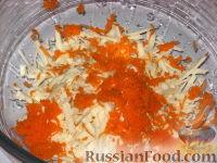 """Фото приготовления рецепта: Салат """"Солнышко"""" - шаг №3"""