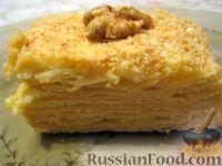 Фото к рецепту: Торт Наполеон простой