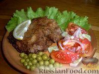 Фото к рецепту: Шницель по-венски