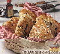 Фото к рецепту: Печенье-коржики с шоколадом и миндалем