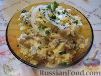 Фото к рецепту: Салат с селедкой