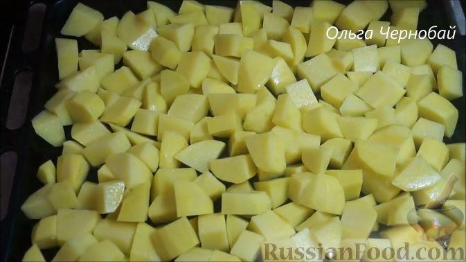 Фото приготовления рецепта: Рис с курицей и тыквой - шаг №9