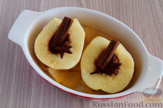 Фото приготовления рецепта: Айва татлысы (айва в сиропе, по-турецки) - шаг №5