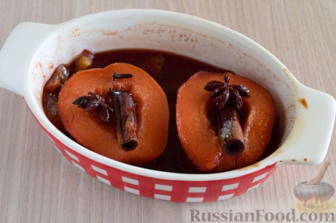 Фото приготовления рецепта: Айва татлысы (айва в сиропе, по-турецки) - шаг №9