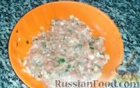 Фото приготовления рецепта: Армянские манты с мясом (в духовке) - шаг №3
