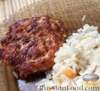 Фото к рецепту: Котлеты из куриной грудки и болгарского перца