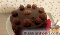 Фото к рецепту: Шоколадный трюфельный торт