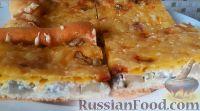 Фото к рецепту: Грибная пицца (без майонеза)