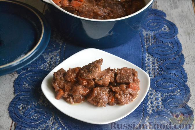 Фото приготовления рецепта: Куриный рулет с макаронами - шаг №15