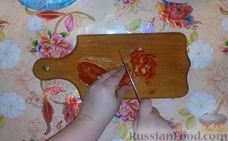 "Фото приготовления рецепта: Салат ""Собачка"" - шаг №5"