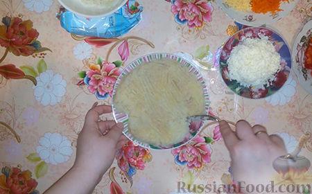"Фото приготовления рецепта: Салат ""Собачка"" - шаг №9"