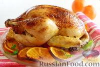 Фото к рецепту: Курица в апельсиновом маринаде