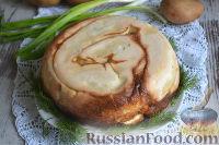 Фото к рецепту: Пирог с картофелем