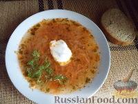 Фото к рецепту: Щи из квашеной капусты (славянская кухня)