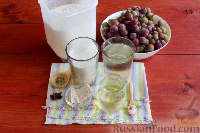 Фото приготовления рецепта: Тосканский пирог с виноградом - шаг №1