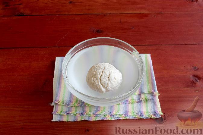 Фото приготовления рецепта: Тосканский пирог с виноградом - шаг №5