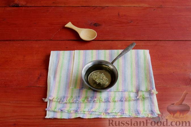 Фото приготовления рецепта: Тосканский пирог с виноградом - шаг №6