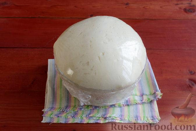 Фото приготовления рецепта: Тосканский пирог с виноградом - шаг №10
